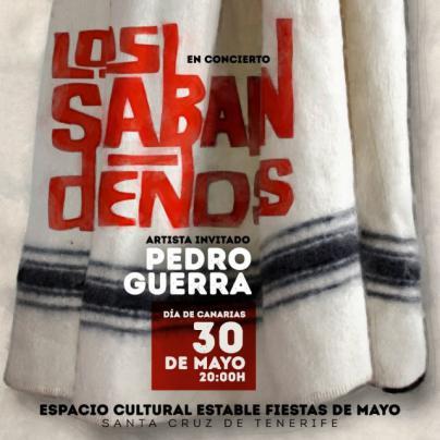 Santa Cruz celebra el Día de Canarias con Los Sabandeños y Pedro Guerra