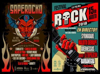 El festival 'La Palma Rock' reúne en Villa de Garafía a los mejores grupos de la isla