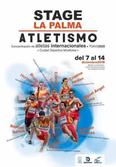 La Ciudad Deportiva de Miraflores acogerá los entrenamientos de atletas españoles internacionales