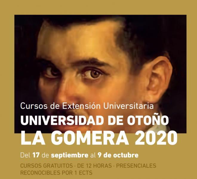 Este jueves comienza la Universidad de Otoño de La Gomera