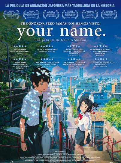 Cuatro títulos representativos del cine de animación japonés se proyectan en el III Festival de Cine Anime La Palma