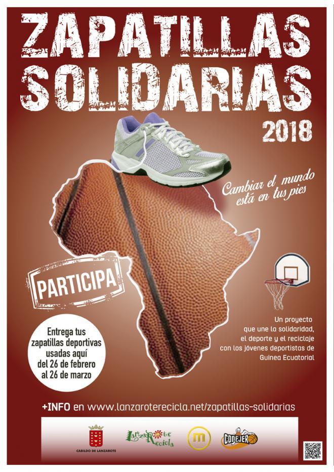 Lanzarote pone en marcha la quinta edición de la campaña 'Zapatillas Solidarias'