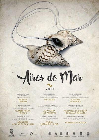 'Aires de Mar' concluye con la Parranda La Palma en La Salemera