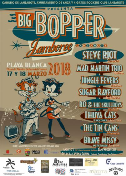 Rock and roll en Playa Blanca en el Festival Big Bopper Jamboree de este fin de semana