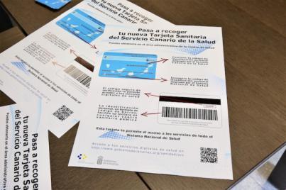 Más de 1.300.000 usuarios del SCS han recogido ya su nueva tarjeta sanitaria en su centro de salud