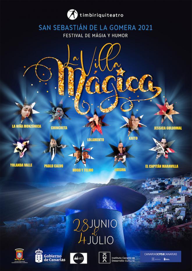 San Sebastián de La Gomera se convertirá en 'La Villa Mágica' con el festival de magia y humor 2021