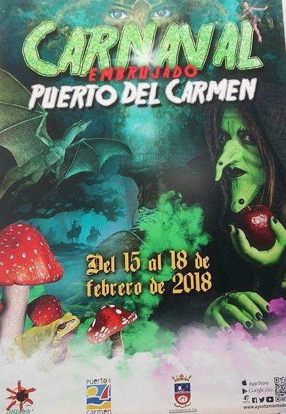 Tías presenta el cartel oficial de los carnavales