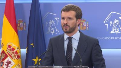 Pablo Casado cree que Sánchez nunca quiso formar gobierno