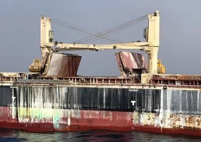 El 'Cheshire' no atracará en Canarias y el buque será remolcado a la Península