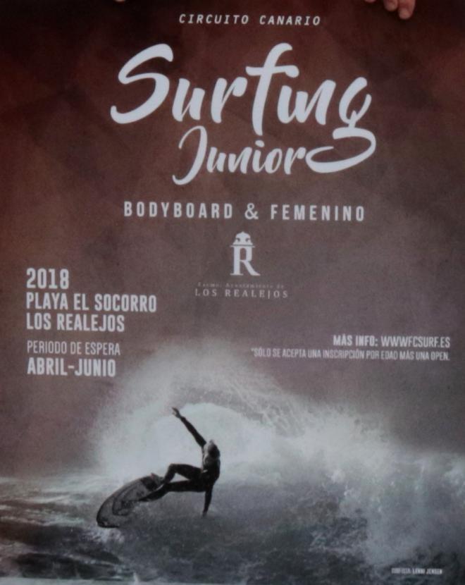 El Socorro acoge el Campeonato de Canarias Júnior de Surf y Bodyboard y Open Femenino puntuables para el nacional