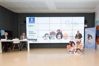 La serie 'Cleo&Cuquín' realiza su lanzamiento internacional en Gran Canaria