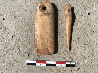 Donan al MAB restos arqueológicos procedentes de Barranco Seco