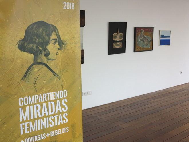 El Cabildo exhibe obras de mujeres creadoras