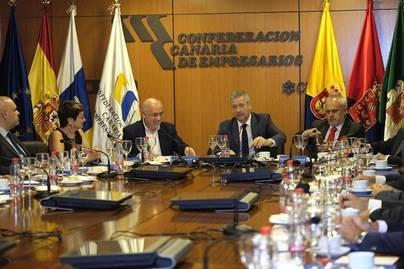 La patronal apoya al Cabildo para la ejecución del Plan Transforma Gran Canaria
