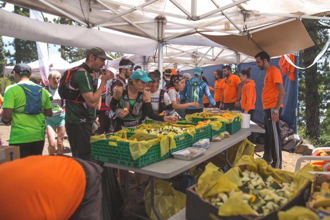 La Transvulcania genera 1.250 kilos de residuos