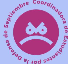 Nace la Coordinadora de Estudiantes por la Defensa de Septiembre