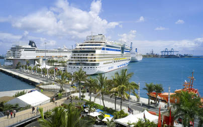 El Puerto de La Luz y de Las Palmas, líder de Cruceros en Canarias