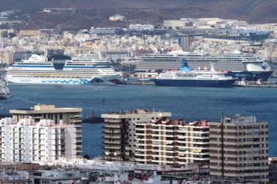 LPGC recibe una veinte escalas de cruceros en diez días marcados por el puente festivo