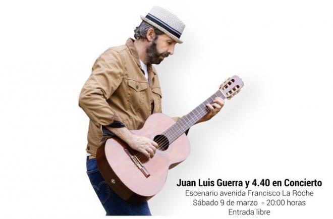 Juan Luis Guerra pone el colofón al Carnaval de Día en el fin de semana de Piñata