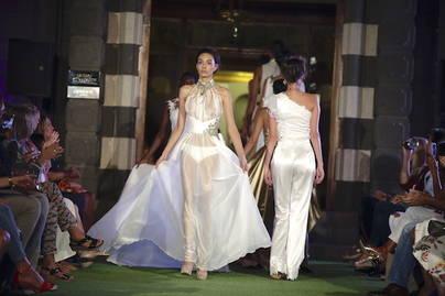 Las firmas Waleska Morín y Diazar brillan en Gran Canaria Bridal Collection