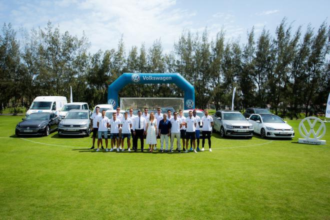 Volkswagen Canarias renueva la flota de la Unión Deportiva Las Palmas
