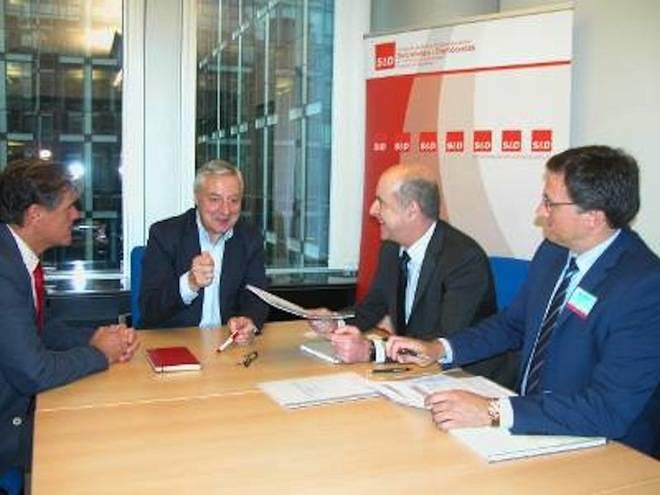 Brexit y Energía, claves del encuentro con el Grupo de la Alianza Progresista europeo