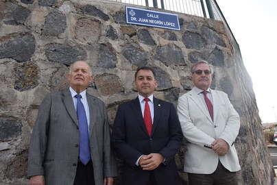 Santa Cruz dedica una calle a la figura del científico y político canario Juan Negrín López