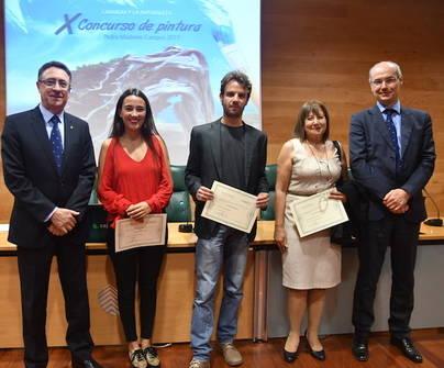 Davide de Battaglia ganador del X Concurso de pintura Pedro Modesto Campos