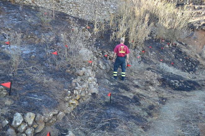 Afmacan valora la gran labor de los medios de extinción en Arico y solicita cambios para luchar contra el fuego