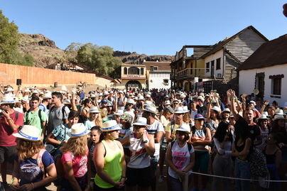 El Cabildo reúne a 600 jóvenes de todos los municipios de Gran Canaria para celebrar el Día Internacional de la Juventud