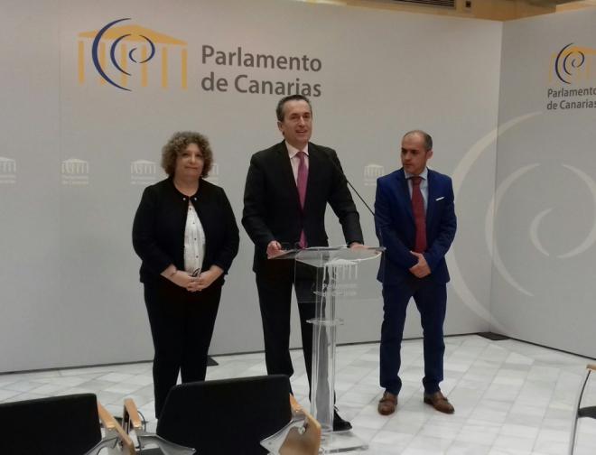 CC dice que Clavijo ha ofrecido un discurso 'con contenido y convicción'