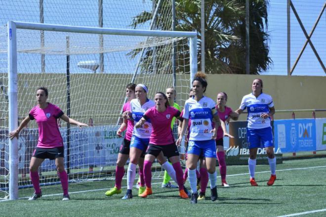 UDG Tenerife Egatesa se impone al Madrid CFF