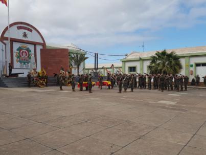 Funeral por los dos soldados fallecidos en Fuerteventura