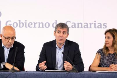 Fernando Clavijo asegura que el FDCAN está cumpliendo con el objetivo de dinamizar la economía de las Islas