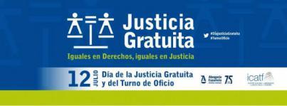 12 de julio, Día de la Justicia Gratuita y del Turno de Oficio