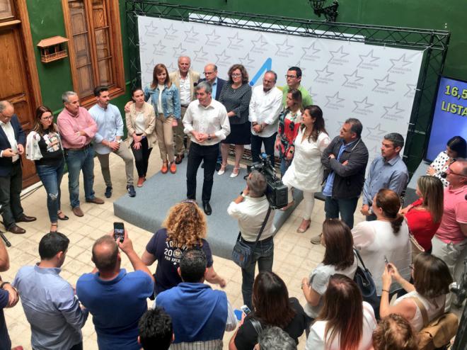 Clavijo será el candidato de Coalición Canaria a la presidencia del Gobierno