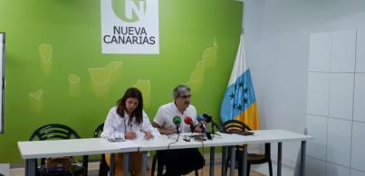 """NC afirma que la propuesta de Coalición Canaria para Canarias está """"agotada y sin crédito"""""""