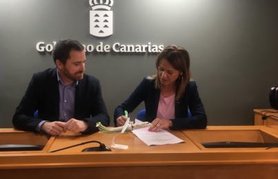 Binter apuesta por la cultura canaria y aumenta su apoyo a proyectos del Gobierno