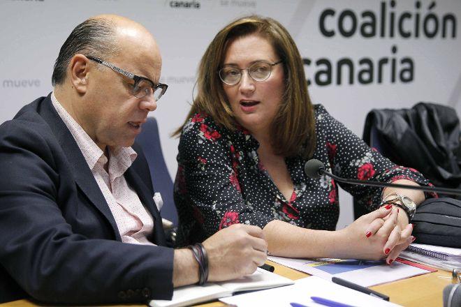 """González Taño: """"El Gobierno de Sánchez no puede seguir enviando a sus ministros solo de visita"""""""