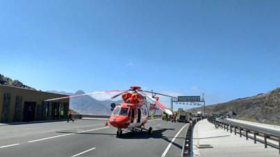 Un operario fallece atropellado cuando trabajaba en un túnel de la GC-2, en La Aldea