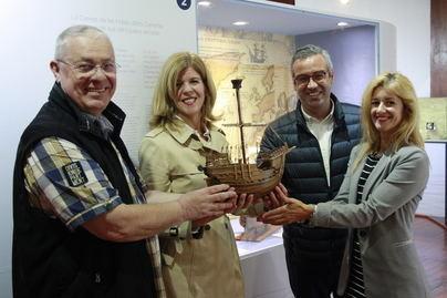 El Museo Naval incorpora las maquetas de las carabelas de Cristóbal Colón