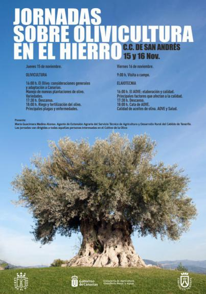 Jornadas sobre Olivicultura en El Hierro