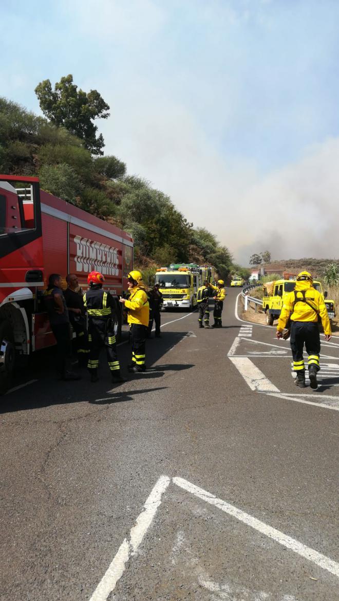 El incendio de Gran Canaria avanza sin control hasta las 1.700 hectáreas quemadas