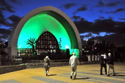 Tirajana se suma a la marea verde que evoca los actos de San Patricio