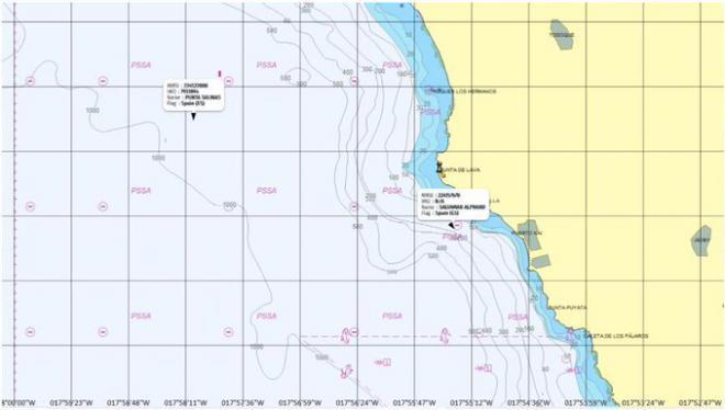 Marina Mercante prohíbe temporalmente la navegación en las zonas próximas a la erupción volcánica en La Palma
