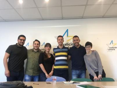Los Jóvenes Nacionalistas de La Palma piden respeto a Perestelo