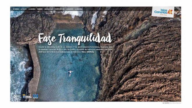 Canarias lanza la campaña 'Entra en fase tranquilidad' con el objetivo de captar turismo peninsular este verano
