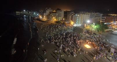Cuentacuentos, batucada y fogaleras para celebrar la mágica noche de San Juan