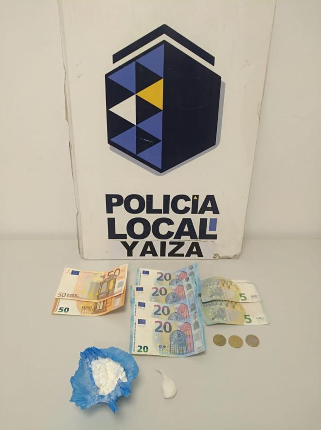 La Policía Local de Yaiza detiene a un hombre con 22,9 gramos de cocaína