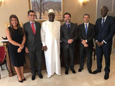 El presidente de Senegal valora los vínculos con Tenerife